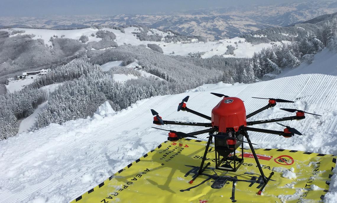 Monte Cimone, SNIPER technology
