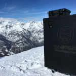 Drone SNIPER a Sestriere, distacco valanghe, openday, demo SNIPER, SNIPER Technology, Flycase