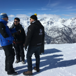 Drone SNIPER a Sestriere, distacco valanghe, openday, demo SNIPER, SNIPER Technology, Brief prevolo