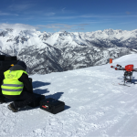 Drone SNIPER a Sestriere, distacco valanghe, openday, demo SNIPER, SNIPER Technology, drone per distacco valanghe