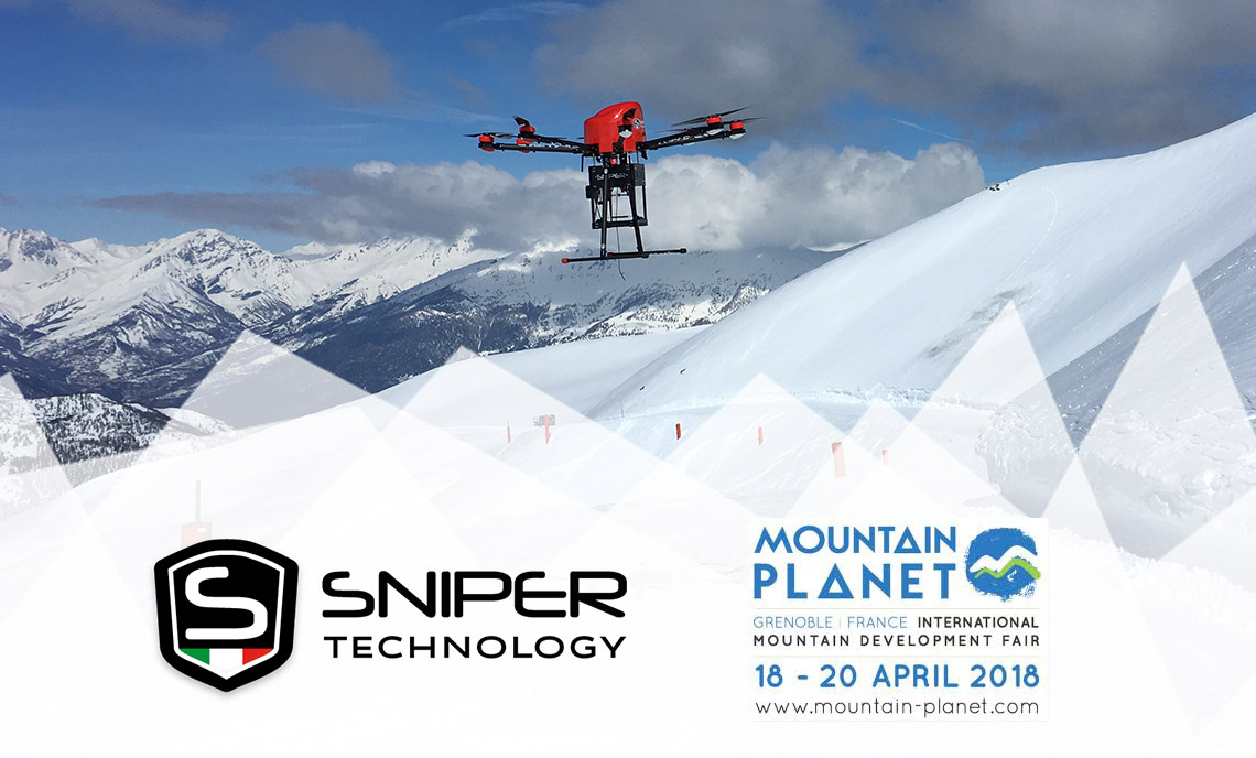 mountain planet, sniper technology, distacco valanghe