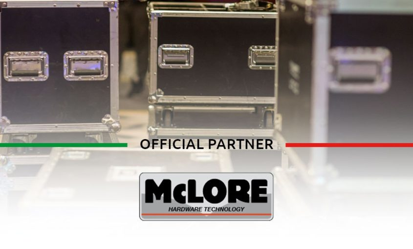 McLore, Flight Case, trasporto in volo, sicurezza, partnership, partner