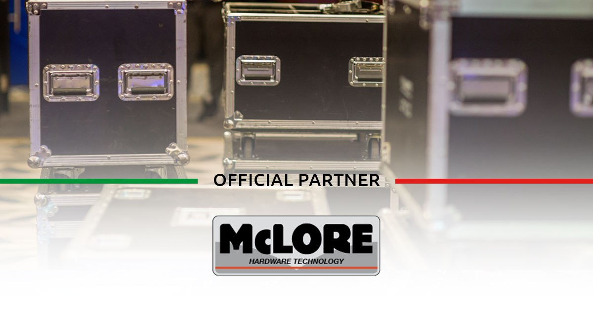 McLore, Flight Case, trasporto in volo, sicurezza, partnership, partner